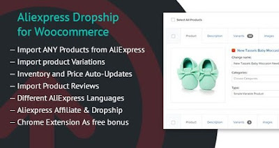 AliEXPRESS DropShip For Woocommerce v1.2.1