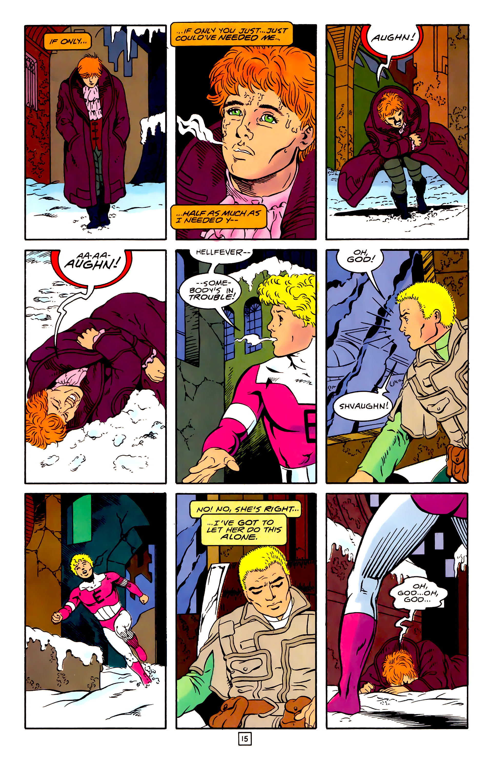 Legion of Super-Heroes (1989) 31 Page 15