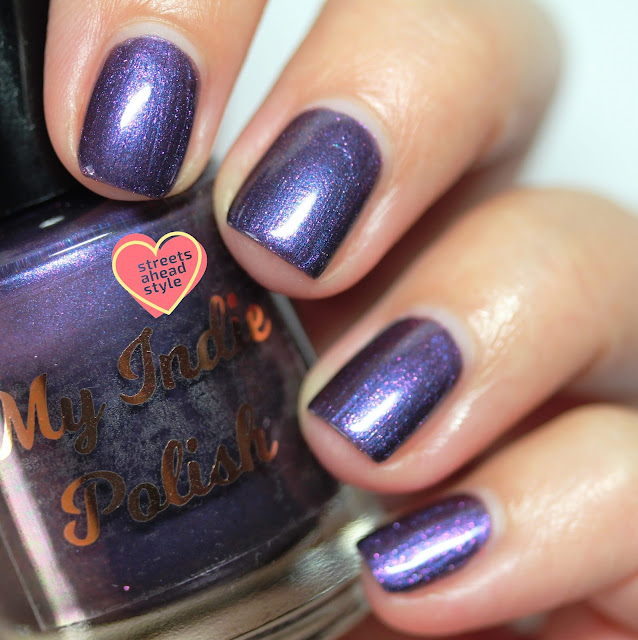 My Indie Polish Ultra Violet Autumn swatch by Streets Ahead Style