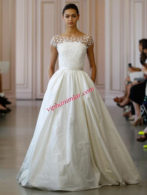 Oscar de la Renta Bridal Spring 2016 Collection
