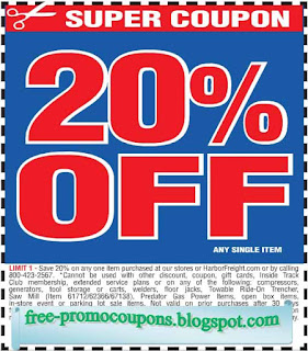 Harbor freight free printable coupons