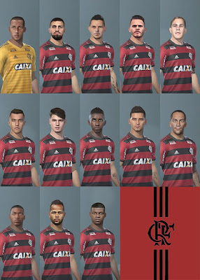 PES 2019 Facepack Flamengo 2019 by BMPES