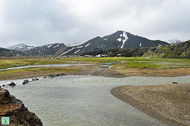Río para llegar a Landmannalaugar, Islandia