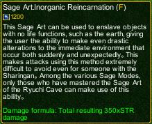 naruto castle defense 6.3 Sage Kabuto Inorganic Reincarnation detail