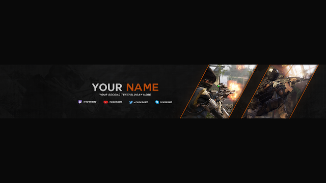 Youtube Banner BO3