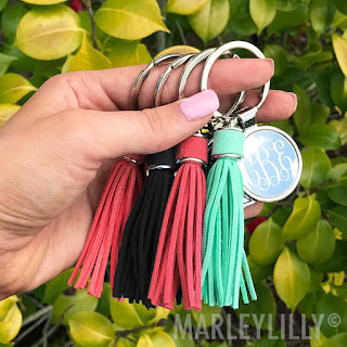 Add trend to your keys with this Tassel Key Chain!