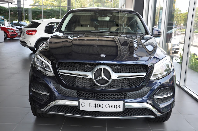Mercedes GLE 400 4MATIC Coupe thiết kế động lực học