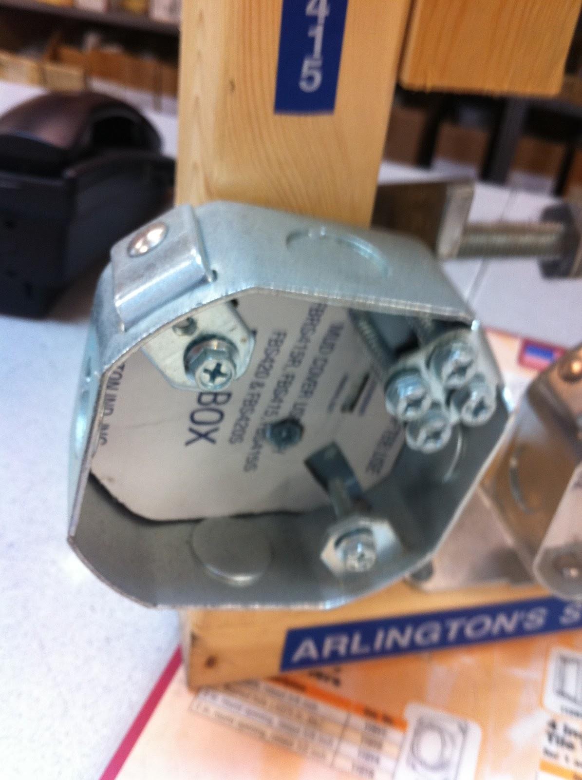 Ceiling Fan Round Box