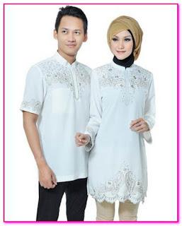 desain baju lebaran seragam keluarga