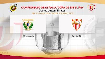 Leganés Sevilla Copa del Rey