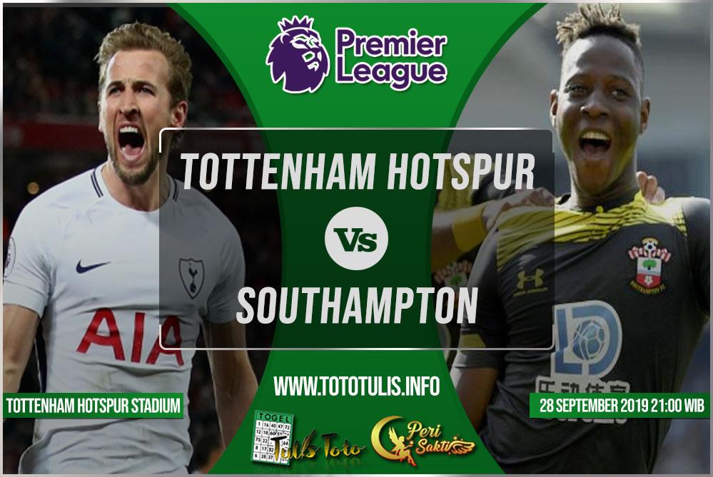 Prediksi Tottenham Hotspur vs Southampton 28 September 2019