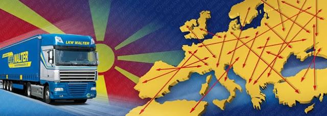Rückgang des Handels zwischen Prishtina und Skopje
