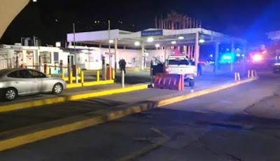 Matan a tiros a conductor que se dirigía de EU a México; se negó a detenerse