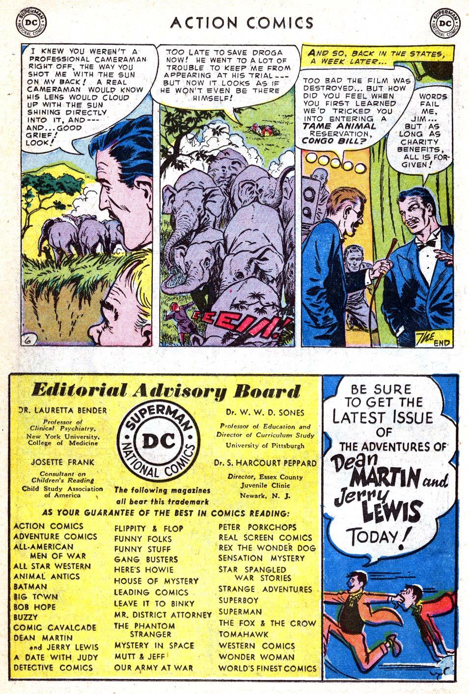 Action Comics (1938) 182 Page 21