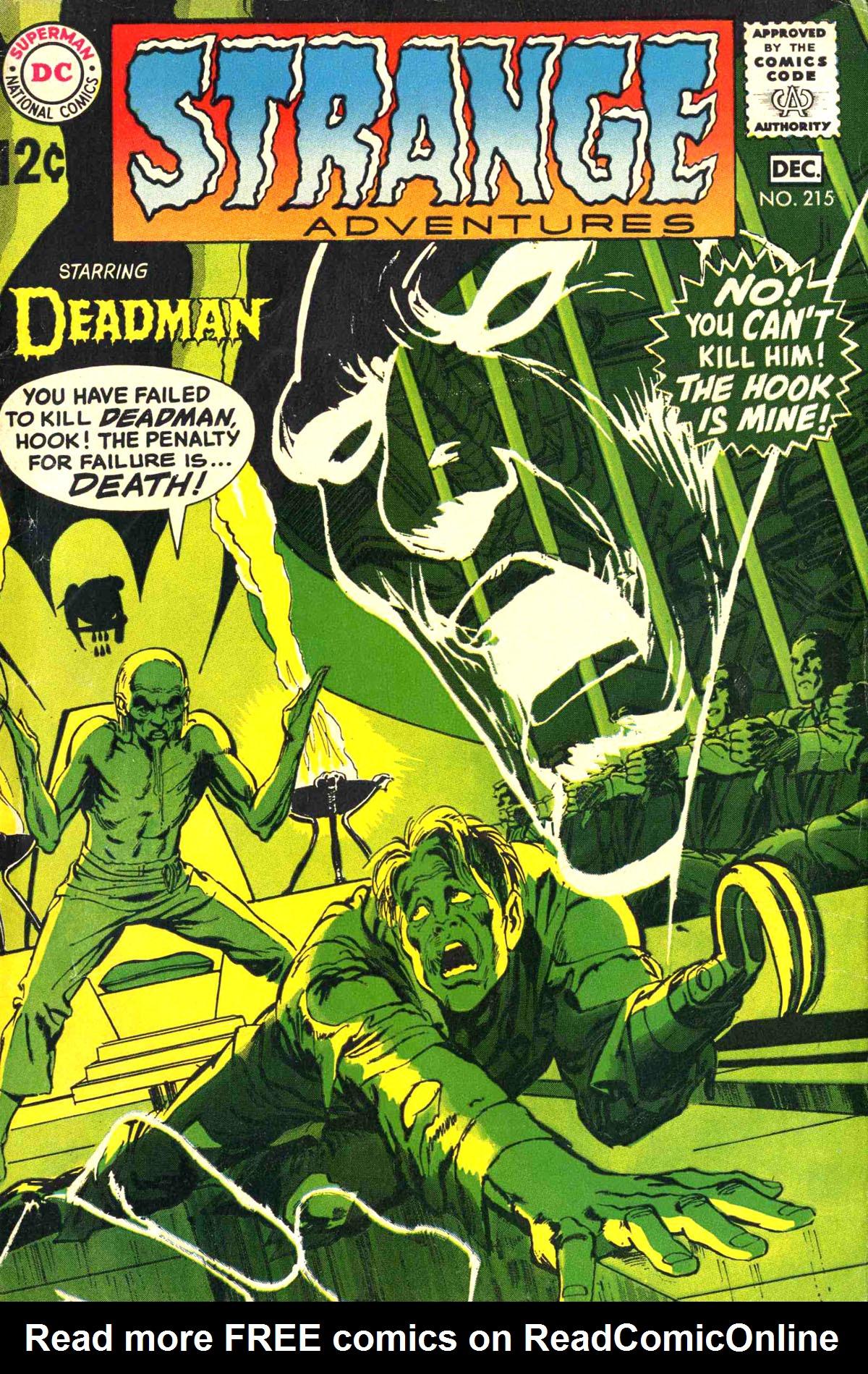 Strange Adventures (1950) issue 215 - Page 1