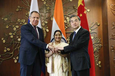 Russia-India-China Foreign Ministerial Meeting