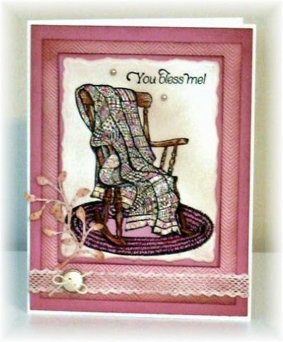 Our Daily Bread Designs, Rocking Chair, Thank you Sentiments