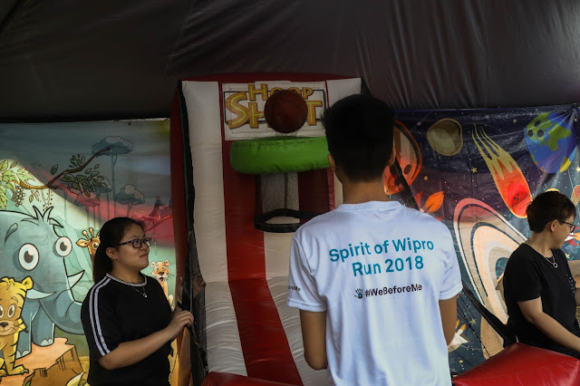 SPRIT OF WIPRO RUN, SPRIT OF WIPRO RUN 2018, #WeBeforeMe, CARRIE JUNIOR, WALK A HUNT.CUP CAKE DECORATION, FLOWER ARRANGEMENT, RUN,
