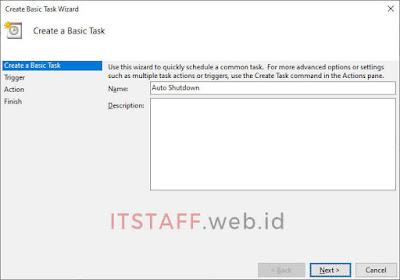 Name Create Basic Task Wizard - ITSTAFF.web.id