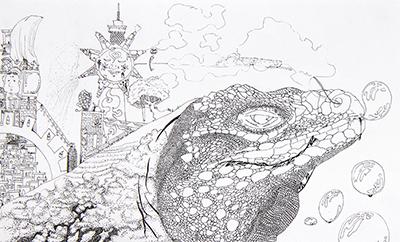 美術クラブ 横浜美術学院の中学生向け教室 ぜんぶ自分でつくる「自由制作」15