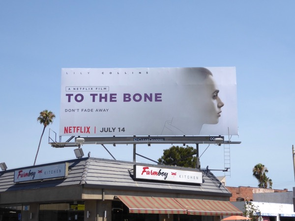 To The Bone Netflix movie billboard