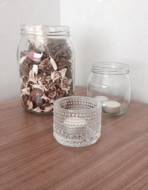 lasitölkkejä uusiokäytössä