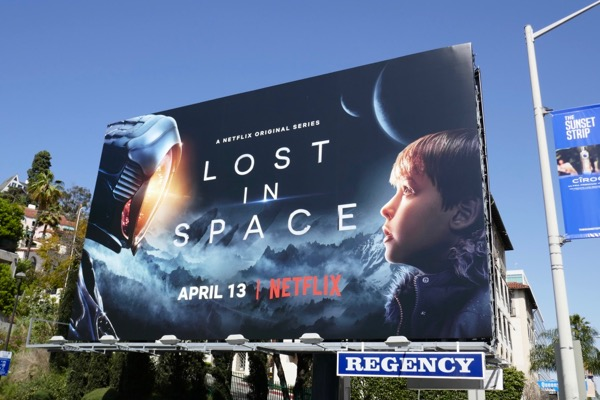 Lost in Space series premiere billboard