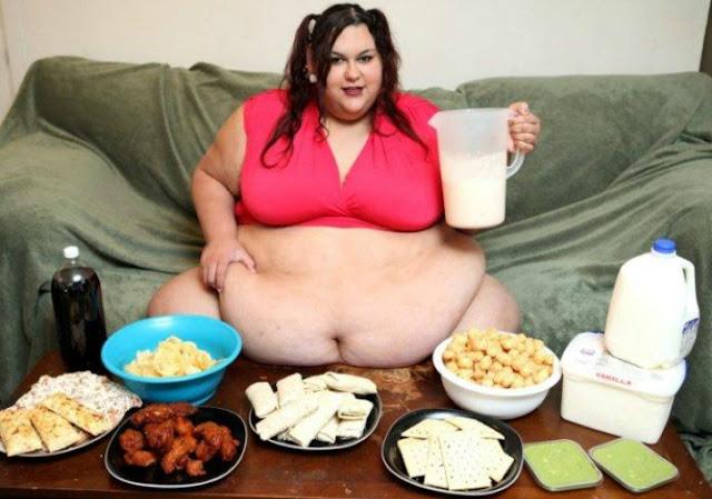 Monica Berat Badan 300 Kg, Masih Berniat Tambah Berat Badan