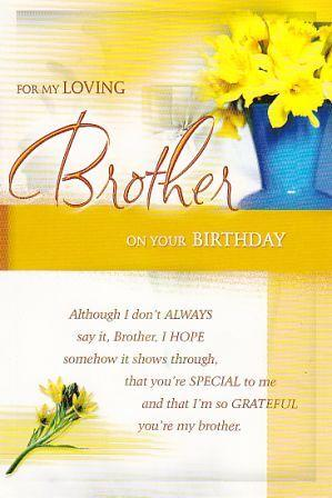 Birthday Greetings Card For Brother ~ Wallpapers, Pictures ...