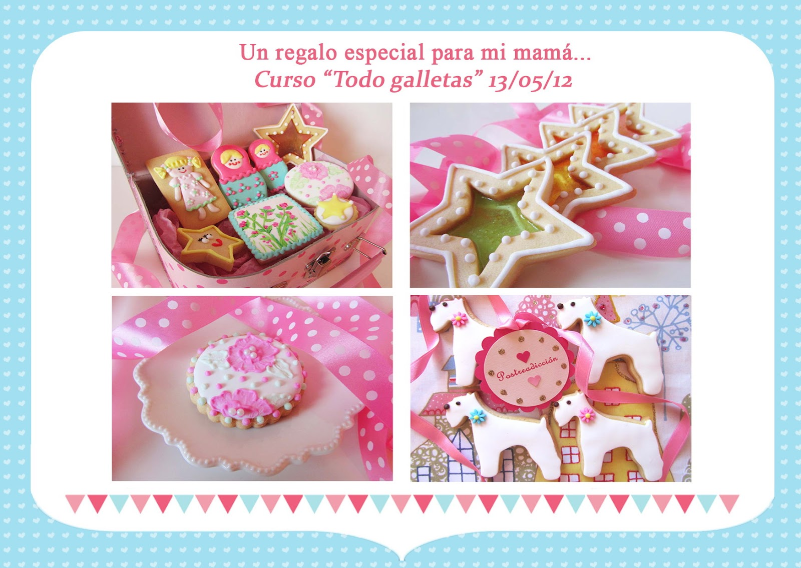 Cursos Galletas Decoradas Madrid Love Purpurina Feliz Día De La Madre