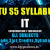 S5 Syllabus Information Technology [IT S5]