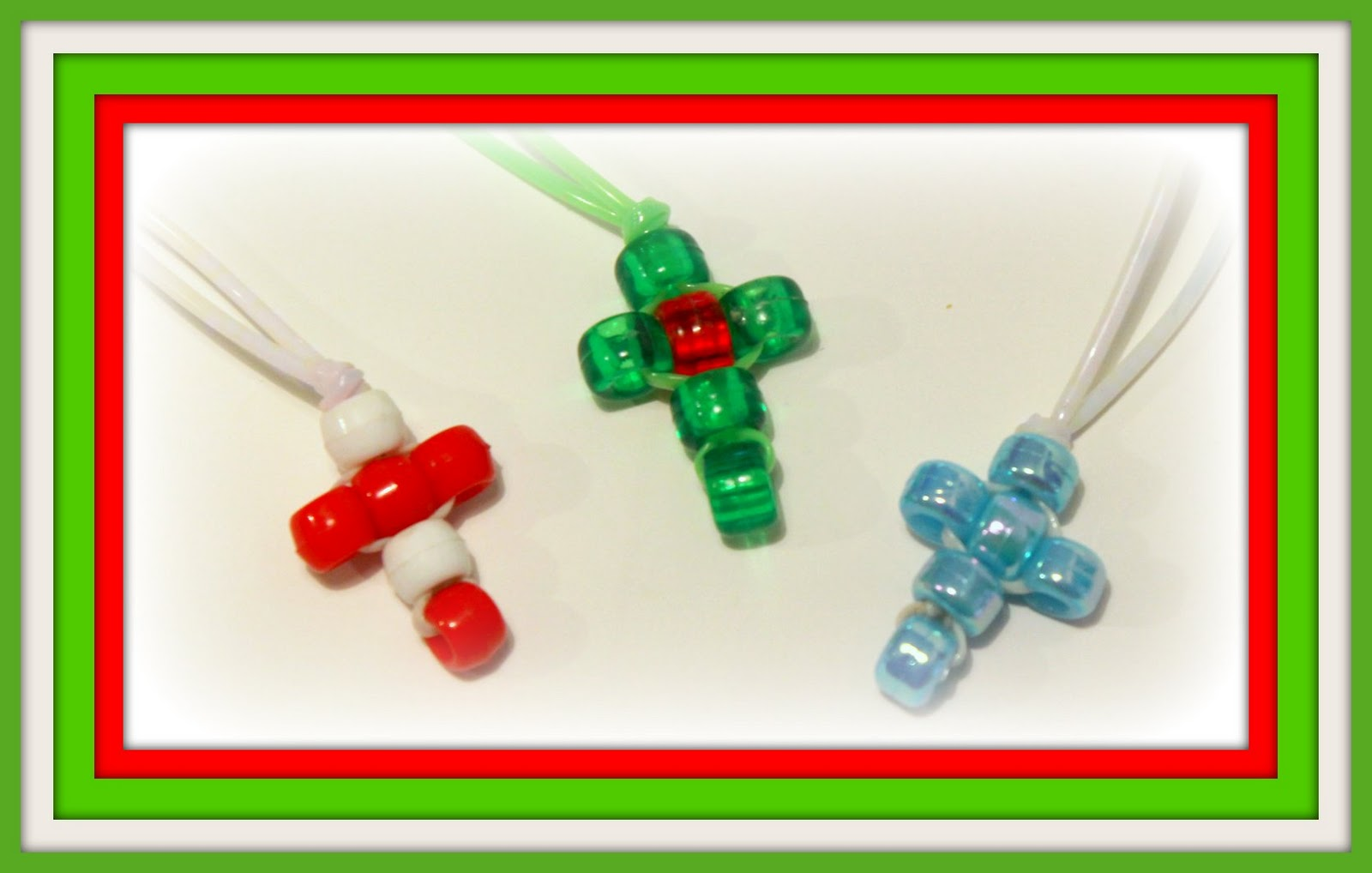 Christmas Crafts Pony Beads