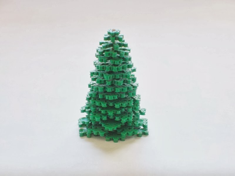Perler Beads 3 D Christmas Tree The Chilly Dog