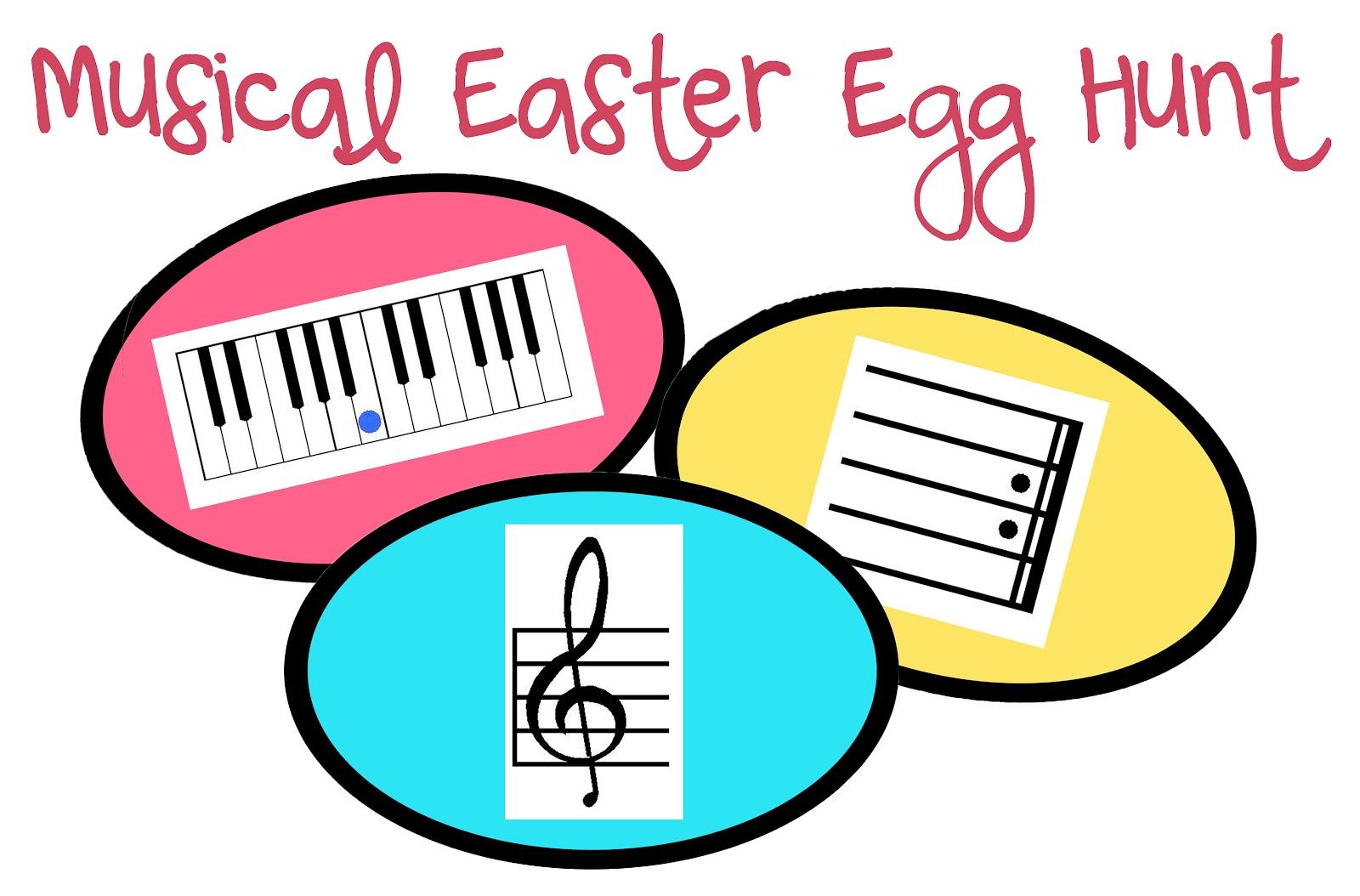 The Teaching Studio New Printable Musical Easter Egg Hunt