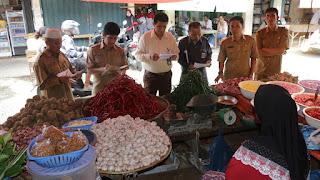 Pemko Pantau Harga Kebutuhan Pokok Di Pasar Tradisional