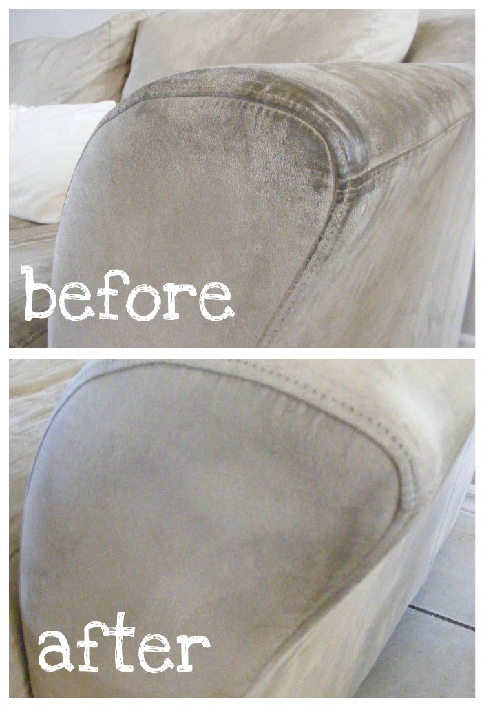 How To Clean A Microfiber Sofa The Complete Guide Imperfect Homemaking