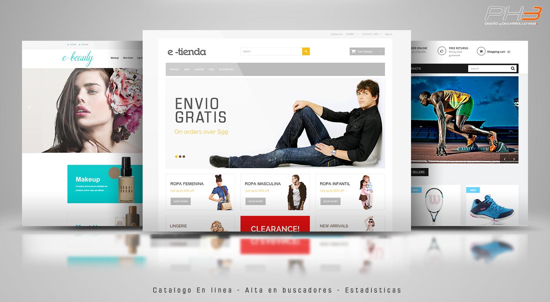 Diseño Web de Tienda Online Parana