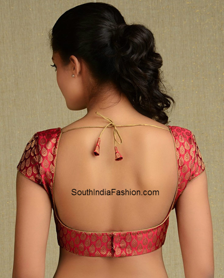 Congratulate, Backless saree blouses designs for women seems magnificent