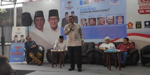 Fadli Zon Sindir Jokowi: Baru Sekarang Presiden Bacanya Doraemon dan Shinchan