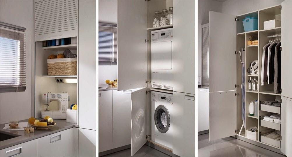 [Decotips] Integrar la zona de lavadero en la cocina