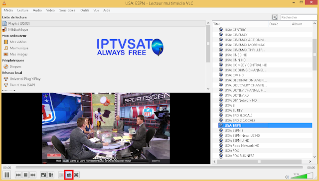 Free iptv list m3u usa tv channels
