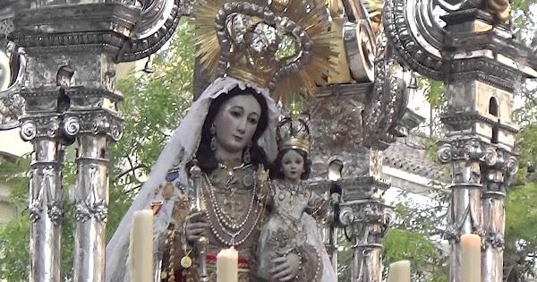 La Virgen del Rosario de Montañeses procesionará en Jerez el 12 octubre