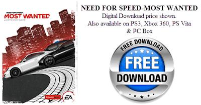 Δωρεάν το Need For Speed-Most Wanted από το Origin
