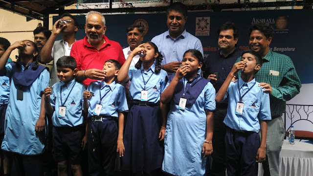 Amazon Cares partners with Akshaya Patra for implementation of the Ksheera Bhagya Scheme in 1300 government schools in Bengaluru