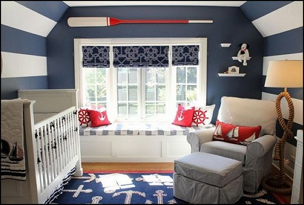 nautical baby bedroom decorating ideas - nautical nursery decor - sailboat nursery decor - nautical nursery wall decals - nautical crib bedding - nautical baby bedrooms nautical baby decor - baby kids nautical decor - little girls nautical nursery - boys nautical nursery