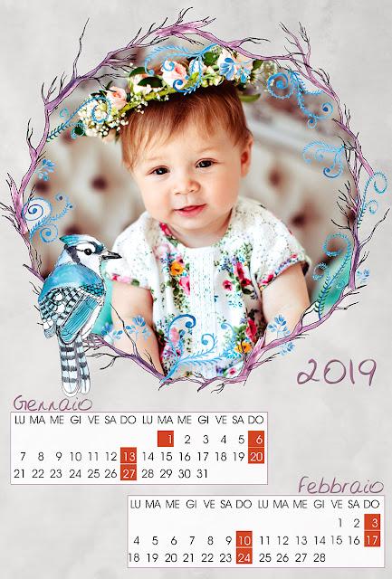 Calendario 2019 bimestrale
