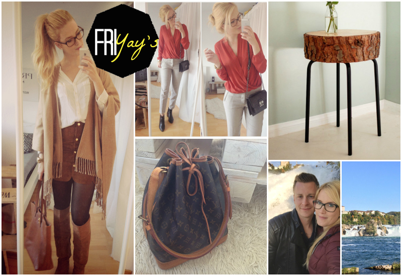 TheBlondeLion Lifestyle Friyays New Louis Vuitton, Rheinfall, Insta Looks and Ikea Hacks