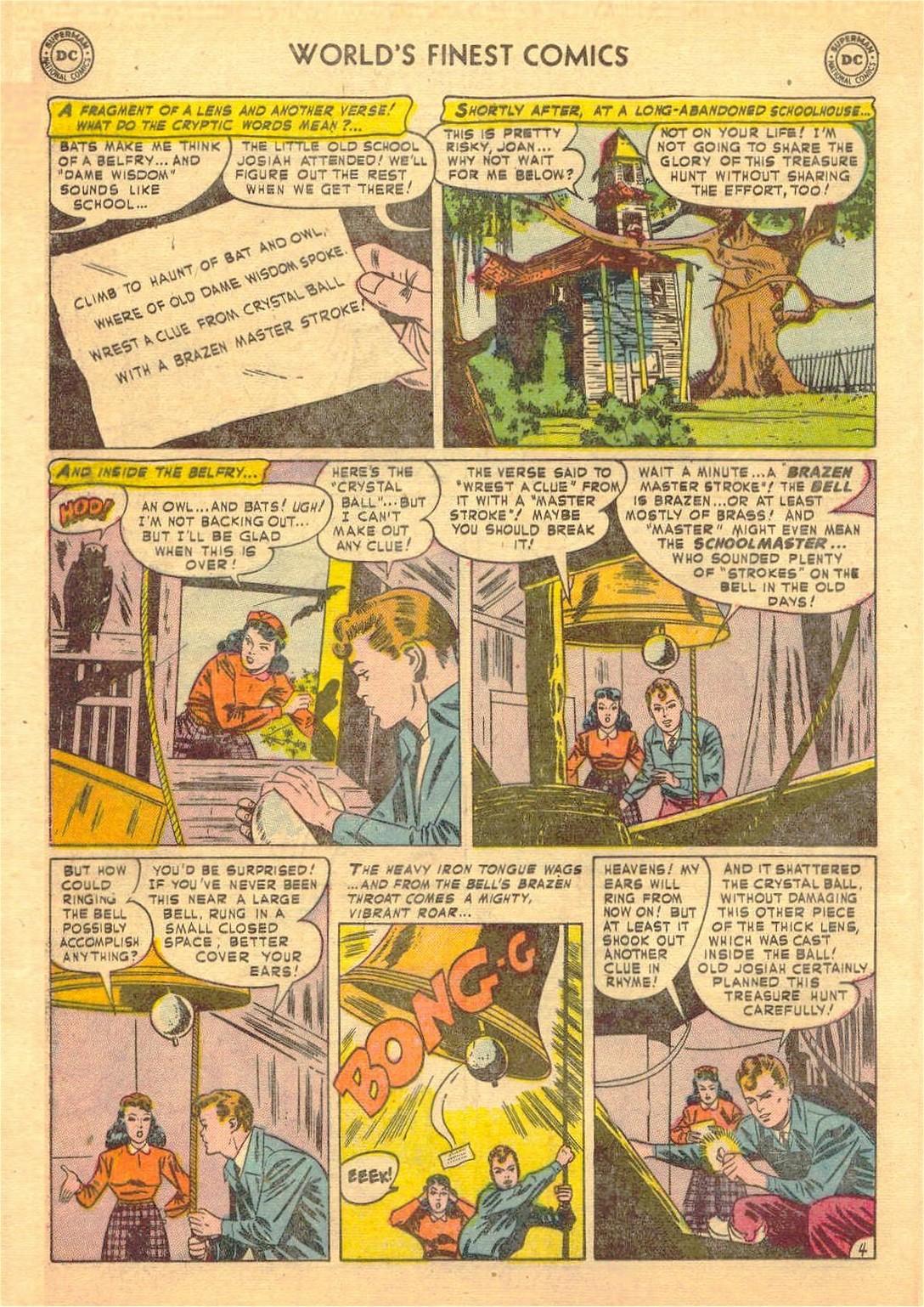 Read online World's Finest Comics comic -  Issue #58 - 44