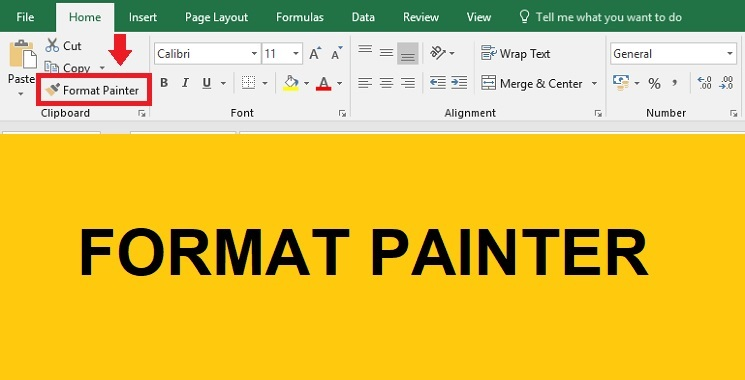 Fungsi Tombol Format Painter di Excel dan Word Fungsi Tombol Format Painter di Excel dan Word