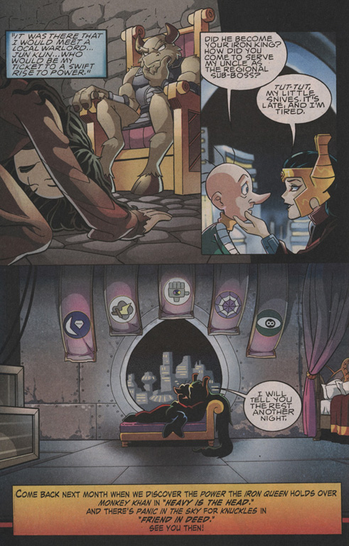 Read online Sonic The Hedgehog comic -  Issue #202 - 23